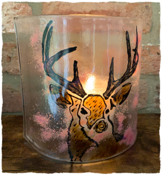 Stag Candle Sconce